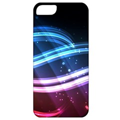 Illustrations Color Purple Blue Circle Space Apple Iphone 5 Classic Hardshell Case