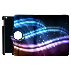Illustrations Color Purple Blue Circle Space Apple Ipad 2 Flip 360 Case by Alisyart