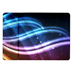 Illustrations Color Purple Blue Circle Space Samsung Galaxy Tab 10 1  P7500 Flip Case