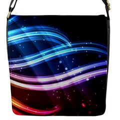 Illustrations Color Purple Blue Circle Space Flap Messenger Bag (s) by Alisyart