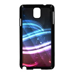 Illustrations Color Purple Blue Circle Space Samsung Galaxy Note 3 Neo Hardshell Case (black) by Alisyart