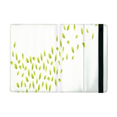 Leaves Leaf Green Fly Landing Ipad Mini 2 Flip Cases by Alisyart