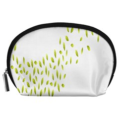 Leaves Leaf Green Fly Landing Accessory Pouches (large)