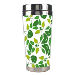 Leaf Green Frame Star Stainless Steel Travel Tumblers