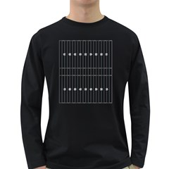 Main Field Football Sport Gray Long Sleeve Dark T Shirts