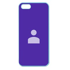Man Grey Purple Sign Apple Seamless Iphone 5 Case (color) by Alisyart