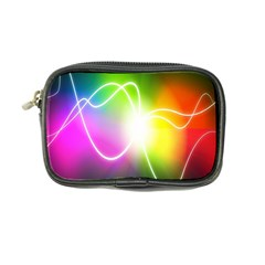 Lines Wavy Ight Color Rainbow Colorful Coin Purse