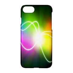 Lines Wavy Ight Color Rainbow Colorful Apple Iphone 7 Hardshell Case