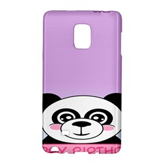 Panda Happy Birthday Pink Face Smile Animals Flower Purple Green Galaxy Note Edge