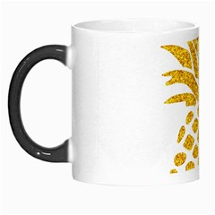 Pineapple Glitter Gold Yellow Fruit Morph Mugs