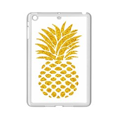Pineapple Glitter Gold Yellow Fruit Ipad Mini 2 Enamel Coated Cases
