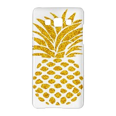 Pineapple Glitter Gold Yellow Fruit Samsung Galaxy A5 Hardshell Case