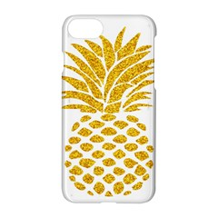 Pineapple Glitter Gold Yellow Fruit Apple Iphone 7 Hardshell Case