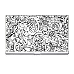 These Flowers Need Colour! Business Card Holders by Simbadda