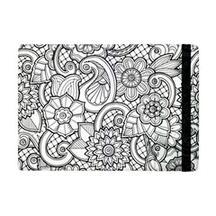 These Flowers Need Colour! Apple Ipad Mini Flip Case by Simbadda