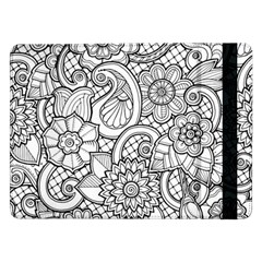 These Flowers Need Colour! Samsung Galaxy Tab Pro 12 2  Flip Case