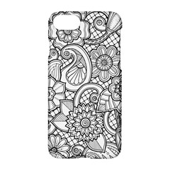 These Flowers Need Colour! Apple Iphone 7 Hardshell Case by Simbadda