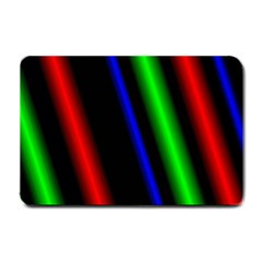 Multi Color Neon Background Small Doormat  by Simbadda