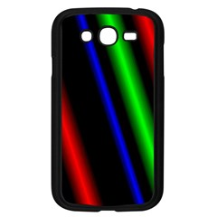 Multi Color Neon Background Samsung Galaxy Grand Duos I9082 Case (black)