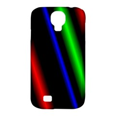 Multi Color Neon Background Samsung Galaxy S4 Classic Hardshell Case (pc+silicone)