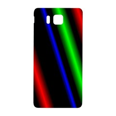 Multi Color Neon Background Samsung Galaxy Alpha Hardshell Back Case