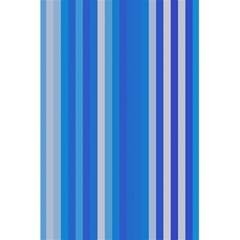 Color Stripes Blue White Pattern 5 5  X 8 5  Notebooks by Simbadda
