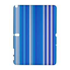 Color Stripes Blue White Pattern Galaxy Note 1