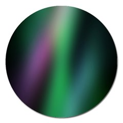 Course Gradient Color Pattern Magnet 5  (round) by Simbadda