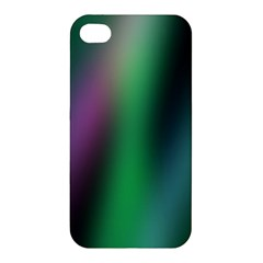 Course Gradient Color Pattern Apple Iphone 4/4s Premium Hardshell Case