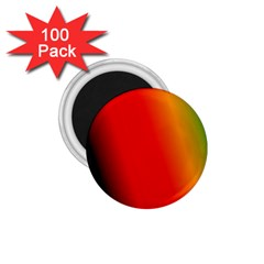Multi Color Pattern Background 1 75  Magnets (100 Pack)  by Simbadda