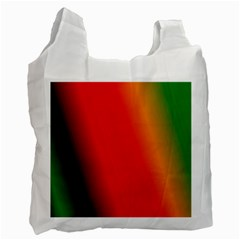 Multi Color Pattern Background Recycle Bag (two Side)  by Simbadda