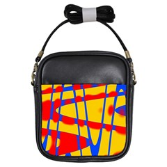 Graphic Design Graphic Design Girls Sling Bags