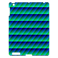 Background Texture Structure Color Apple Ipad 3/4 Hardshell Case by Simbadda