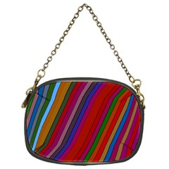 Color Stripes Pattern Chain Purses (two Sides)  by Simbadda