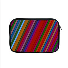 Color Stripes Pattern Apple Macbook Pro 15  Zipper Case by Simbadda