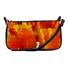 Mosaic Glass Colorful Color Shoulder Clutch Bags by Simbadda