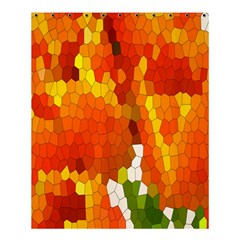 Mosaic Glass Colorful Color Shower Curtain 60  X 72  (medium)