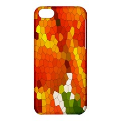 Mosaic Glass Colorful Color Apple Iphone 5c Hardshell Case by Simbadda