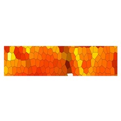 Mosaic Glass Colorful Color Satin Scarf (oblong)