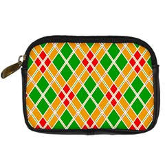 Colorful Color Pattern Diamonds Digital Camera Cases by Simbadda