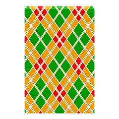 Colorful Color Pattern Diamonds Shower Curtain 48  X 72  (small)  by Simbadda