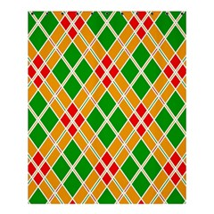 Colorful Color Pattern Diamonds Shower Curtain 60  X 72  (medium)