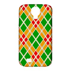 Colorful Color Pattern Diamonds Samsung Galaxy S4 Classic Hardshell Case (pc+silicone) by Simbadda