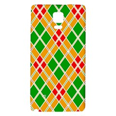 Colorful Color Pattern Diamonds Galaxy Note 4 Back Case
