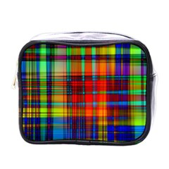 Abstract Color Background Form Mini Toiletries Bags