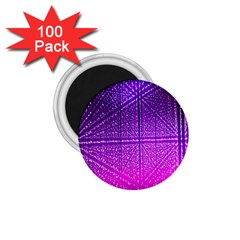 Pattern Light Color Structure 1 75  Magnets (100 Pack)  by Simbadda