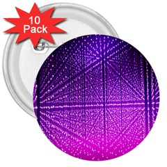 Pattern Light Color Structure 3  Buttons (10 Pack)