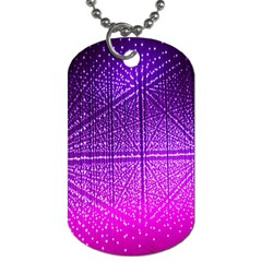 Pattern Light Color Structure Dog Tag (one Side)