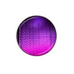Pattern Light Color Structure Hat Clip Ball Marker (4 Pack)