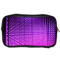 Pattern Light Color Structure Toiletries Bags